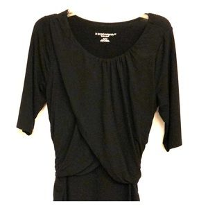 Liz Lange Maternity Black dress